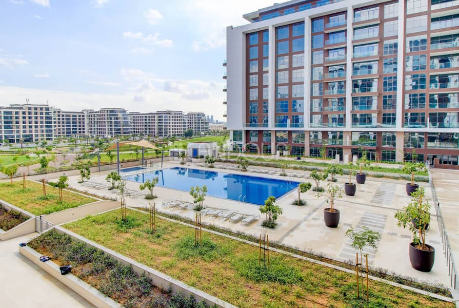 23 Pool and Park Views | Spacious  3 BR | Key in Hand