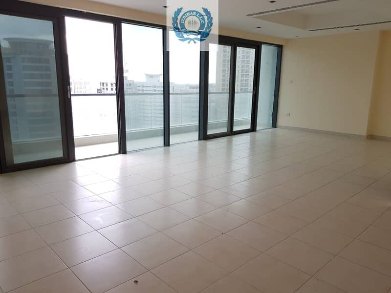 Chiller Free Spacious 3BHK on Al Khan Corniche with HC / Parking Free