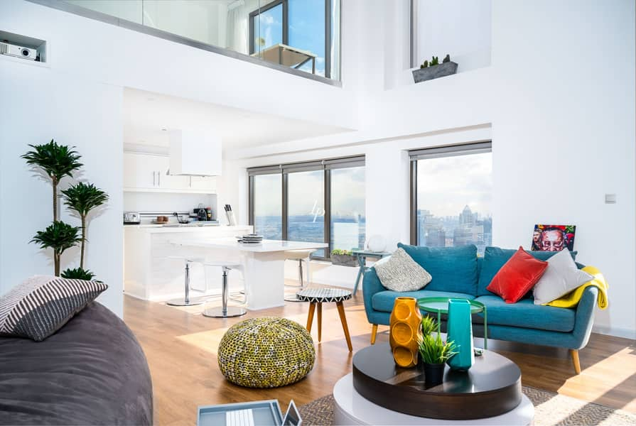Fantastic Loft Apartment|Dubai Marina Canal Views