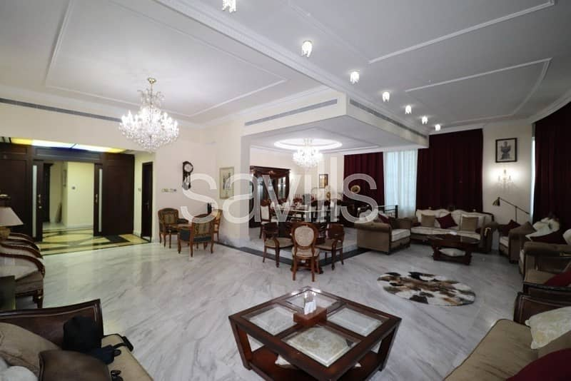 Luxury furnished penthouse with sea view
