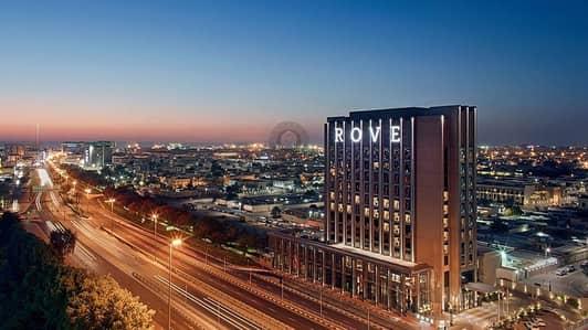 شقة فندقية 1 غرفة نوم للبيع في جميرا، دبي - Great Investment| Rove Hotel city walk