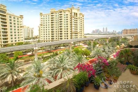 فلیٹ 3 غرف نوم للبيع في نخلة جميرا، دبي - Upgraded | B Type | Rented | 3 Bedrooms