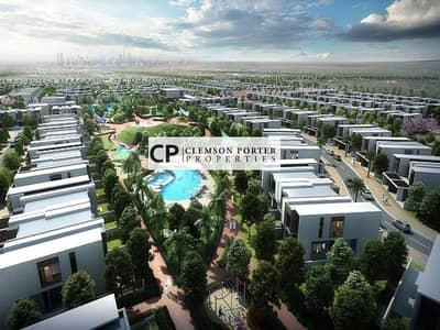 4 Bedroom Townhouse for Sale in Dubailand, Dubai - Luxury Townhouses | 4 bedroom + maid