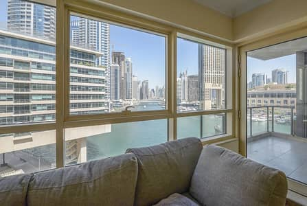 2 Bedroom Apartment for Sale in Dubai Marina, Dubai - Dubai Marina Specialist | Full Marina View | 02