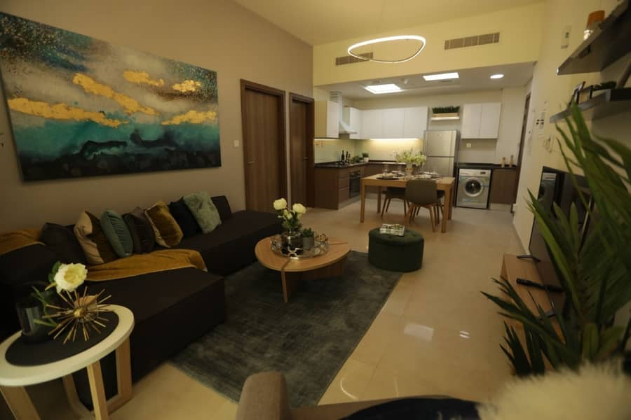 2 Furnished Brand new One Bedroom Apartment in Furjan