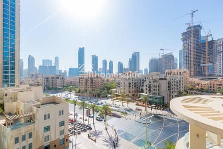 2 Bedroom Apartment for Sale in Downtown Dubai, Dubai - Boulevard Central  2 Bedroom  with blvd street view