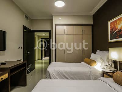 2 Bedroom Hotel Apartment for Rent in Al Nahda, Dubai - 50K FOR 6 MONTHS - ALL INCLUSIVE - DEWA+WIFI+CAR PARK + CLEANING + GYM+POOL+BRAND NEW