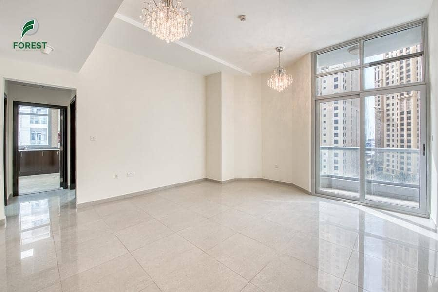 Spacious 1BR with Pool View | Well-Maintained