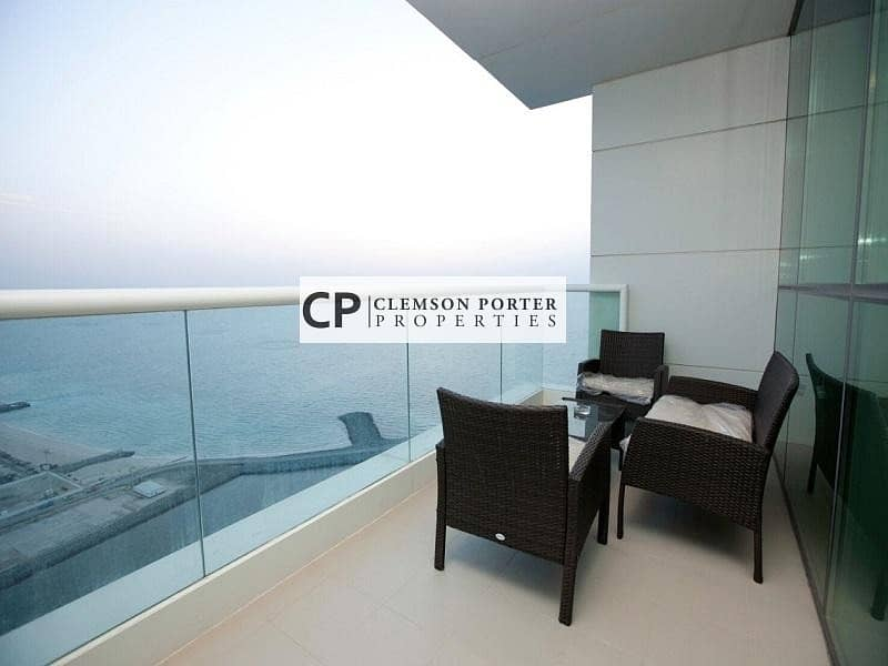 Fully Furnished 2 + maid  for Sale at Al Bateen Tower