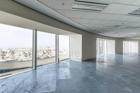 مکتب  للايجار في شارع الشيخ زايد، دبي - Combined CAT A Offices | Prime Location