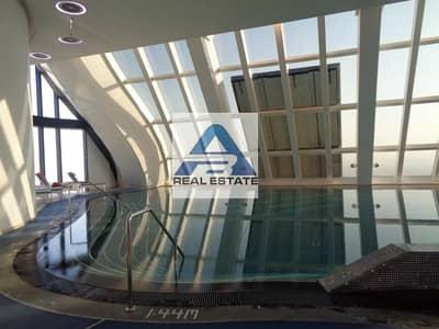 شقة 1 غرفة نوم للايجار في منطقة الكورنيش، أبوظبي - 0% Commission Sea / City View Facilities WTC