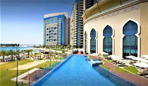 1 Bedroom Flat for Rent in Corniche Area, Abu Dhabi - Full Furnished & Full Serviced 1 BR in Bab Al Qasr Hotel