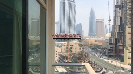 1 Bedroom Apartment for Rent in Downtown Dubai, Dubai - Large Unit I 1BR I Lake Hotel View