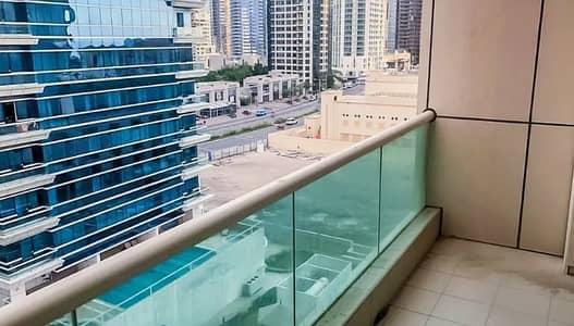 Studio for Rent in Dubai Marina, Dubai - Studio flat unfurnished palm and marina view for rent