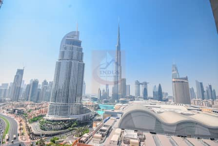 1 Bedroom Hotel Apartment for Rent in Downtown Dubai, Dubai - Spacious | Fully Furnished |Burj and Fountain View