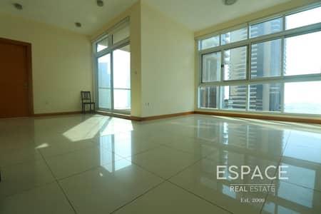 شقة 2 غرفة نوم للايجار في دبي مارينا، دبي - 2 Beds in Iris Blue with Palm View