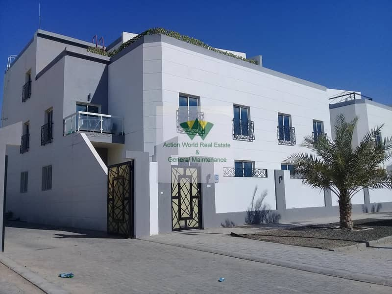 Private Entrance Spacious  3 B/R apt Near Mazyed Mall for Rent in %% MBZ City