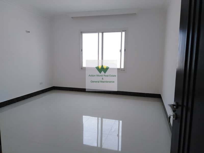 16 Private Entrance Spacious  3 B/R apt Near Mazyed Mall for Rent in %% MBZ City