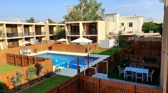 تاون هاوس 3 غرف نوم للايجار في البدع، دبي - Pool View   Awesome Villa   Ready to move in