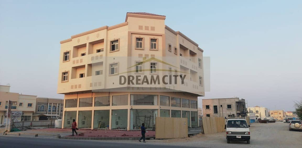 Building for sale inside the Rawda area, on the corner of two streets, at an amazing price