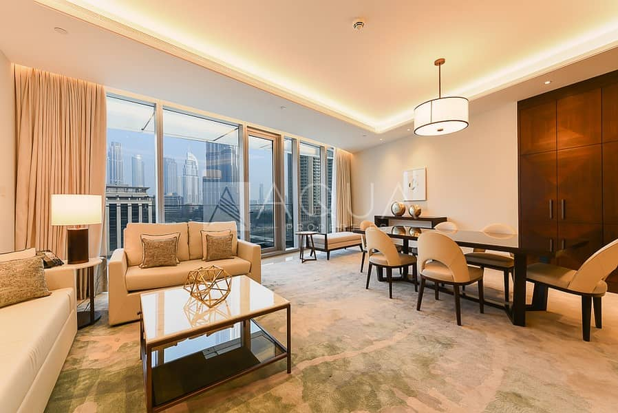 All Inclusive | Burj & Sky Views | High Floor