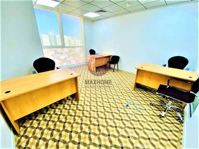 مکتب  للايجار في المرور، أبوظبي - LUXURIOUS OFFICE SPACES IN  A PRIME LOCATION: