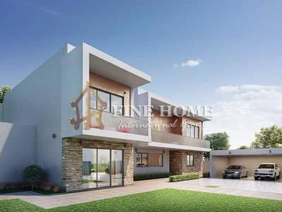 4 Bedroom Villa for Sale in Yas Island, Abu Dhabi - Amazing Brand New / 4 BR. Corner Duplex Villa