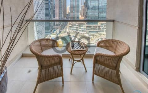 1 Bedroom Apartment for Rent in Dubai Marina, Dubai - Stunning Fully Furnished 1 bedroom with Balcony| Marina View