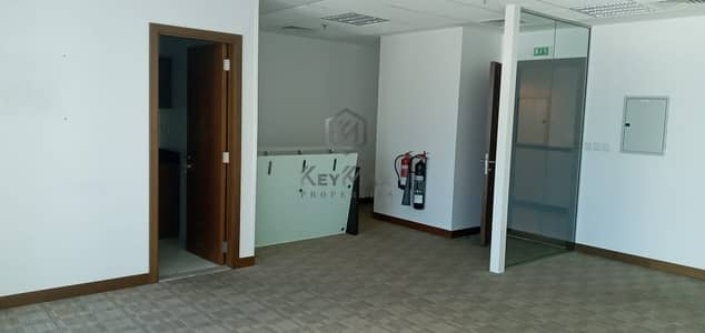 Office for Rent in Business Bay, Dubai - Chiller Free! Fully Fitted With Partition Office Vacant For Rent
