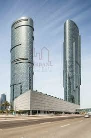 3 Bedroom Flat for Rent in Al Reem Island, Abu Dhabi - Lovely 3br in Sun Tower w/ great view