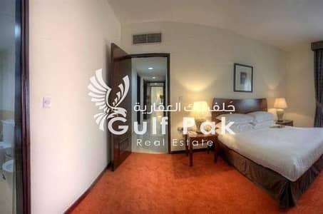 شقة فندقية 2 غرفة نوم للايجار في منطقة النادي السياحي، أبوظبي - شقة فندقية في منطقة النادي السياحي 2 غرف 90000 درهم - 4471639