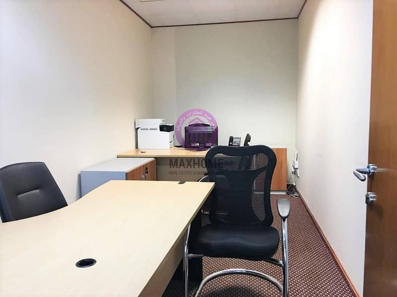 2 office spaces | Fully furnished | All included