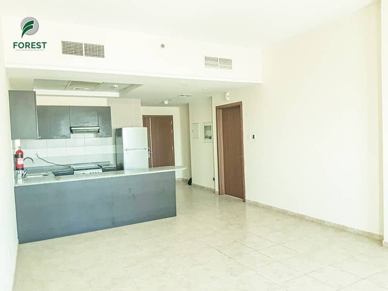 2 Spacious 1BR Apartment with Huge Balcony Unfurnished