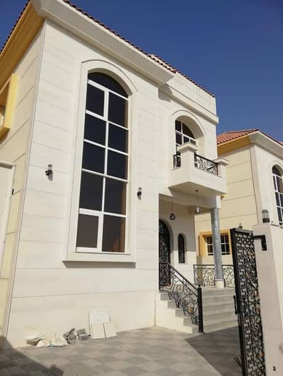 5 Bedroom Villa for Sale in Al Mowaihat, Ajman - New villa opposite Ajman Academy, the second piece from the street