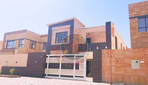 5 Bedroom Villa for Sale in Al Mowaihat, Ajman - Elegant new design villa on a commercial street