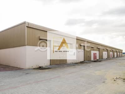Fully Insulated Warehouse Ideal for storage and for small industrial purpose in Sajja  in Emirates Road