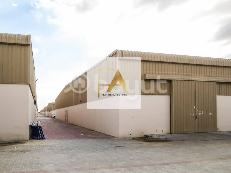 2 Fully Insulated Warehouse Ideal for storage and for small industrial purpose in Sajja  in Emirates Road