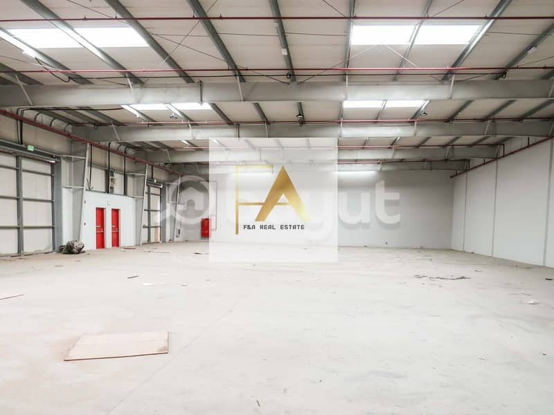 12 Fully Insulated Warehouse Ideal for storage and for small industrial purpose in Sajja  in Emirates Road
