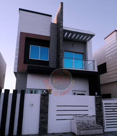 4 Bedroom Villa for Sale in Al Helio, Ajman - Luxury villa with modern design and attractive price - freehold