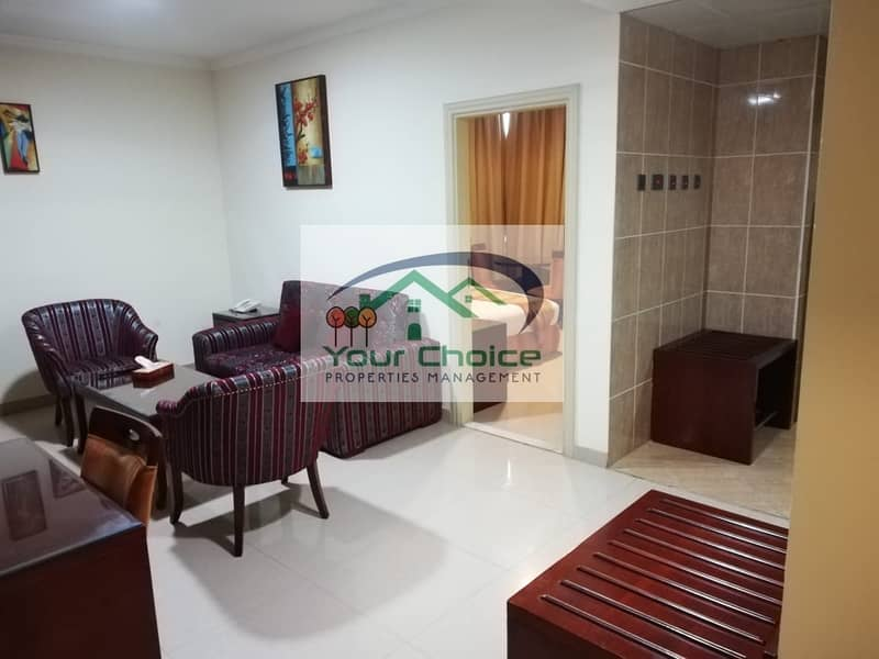 Fully Furnished 1 Bedroom | Free Water & Electricity for only 5