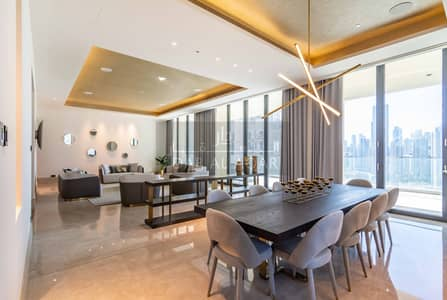 4 Bedroom Penthouse for Rent in Downtown Dubai, Dubai - Luxury Furnished Full-floor Private Residence