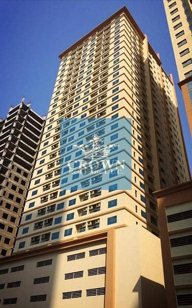 2 Bedroom Flat for Rent in Emirates City, Ajman - FOR RENT! AFFORDABLE 2BHK IN LAKE TOWER C4