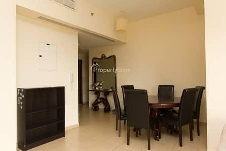 شقة 2 غرفة نوم للايجار في جميرا بيتش ريزيدنس، دبي - High Floor