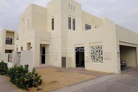 3 Bedroom Townhouse for Sale in Reem, Dubai - Corner villa brand new ready to move in call us !