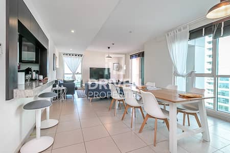 شقة 2 غرفة نوم للايجار في ذا فيوز، دبي - 2 Bedroom Unit with Canal and Golf Views