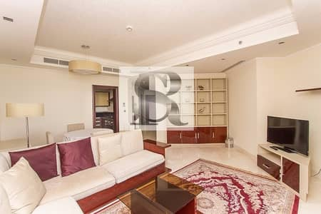 2 Bedroom Flat for Sale in Palm Jumeirah, Dubai - Fully Upgraded | 2BR + Maid | Furnished |  Grandeur - Mughal