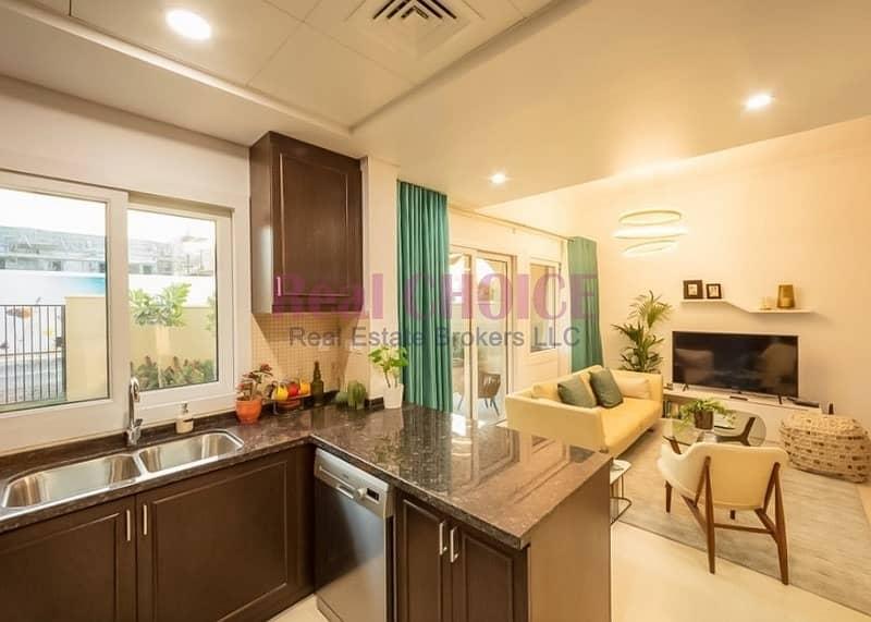 2 Huge Townhouse 3BR + maid | 75% PH-PP | Dubai land