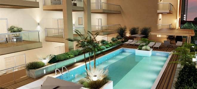 شقة 1 غرفة نوم للايجار في الورسان، دبي - swimming pool