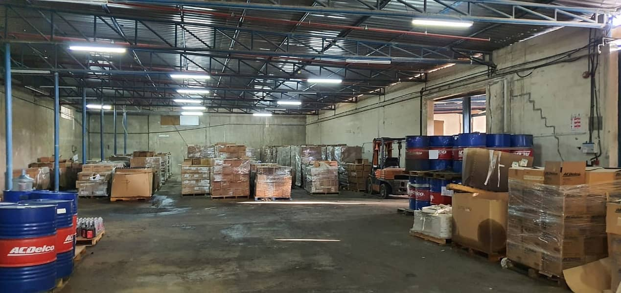 12000 Square feet Warehouse with builtin office available in Industrial area 1, Sharjah