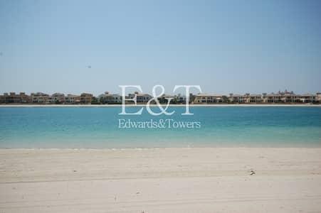 ارض سكنية  للبيع في نخلة جميرا، دبي - EXCLUSIVE! Plot above No. 50 facing Atlantis | PJ